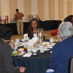 At the non profit luncheon